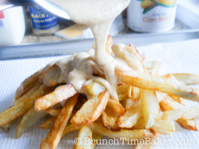 Homemade Nacho Cheese Fries-7