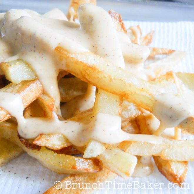 Homemade Nacho Cheese Fries