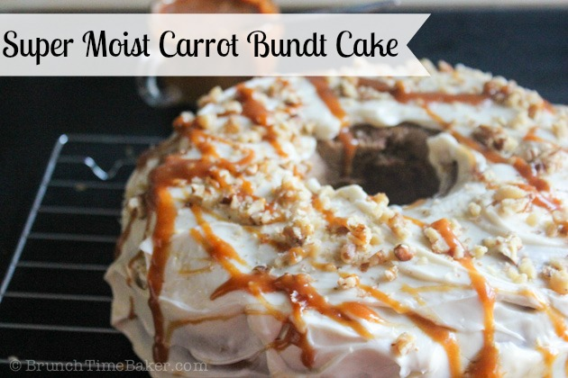 Moist Carrot Cake with Cream Cheese Frosting- BrunchtTimebaker