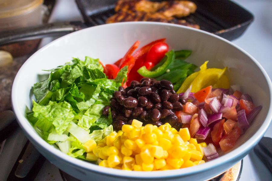 Chipotle's Chicken Burrito Bowl with Cilantro Lime Rice