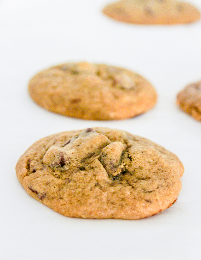 These cappuccino chocolate chip cookies because they are so rich and flavorful! they have this deep cappuccino flavor and smell like the inside of a cafe. They are like beyond amazing!