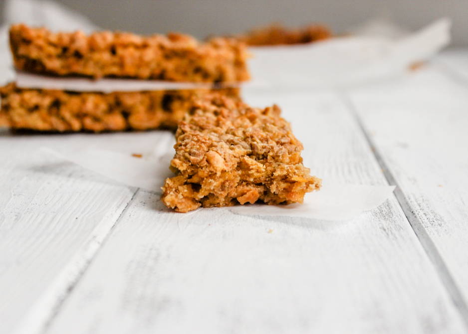 3 Ingredient Honey Roasted Cereal Bars