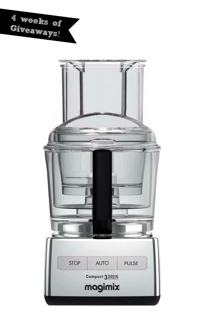 4 weeks of Mother's Day Giveaways: Magimix 3200XL 12-Cup Food Processor in Polished Chrome ($490 Value)