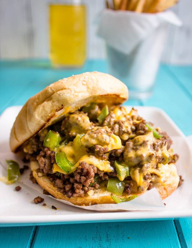 Quick and Easy Philly Style Sloppy Joes