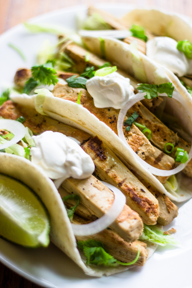 Vegetarian Southwest Chicken Tacos