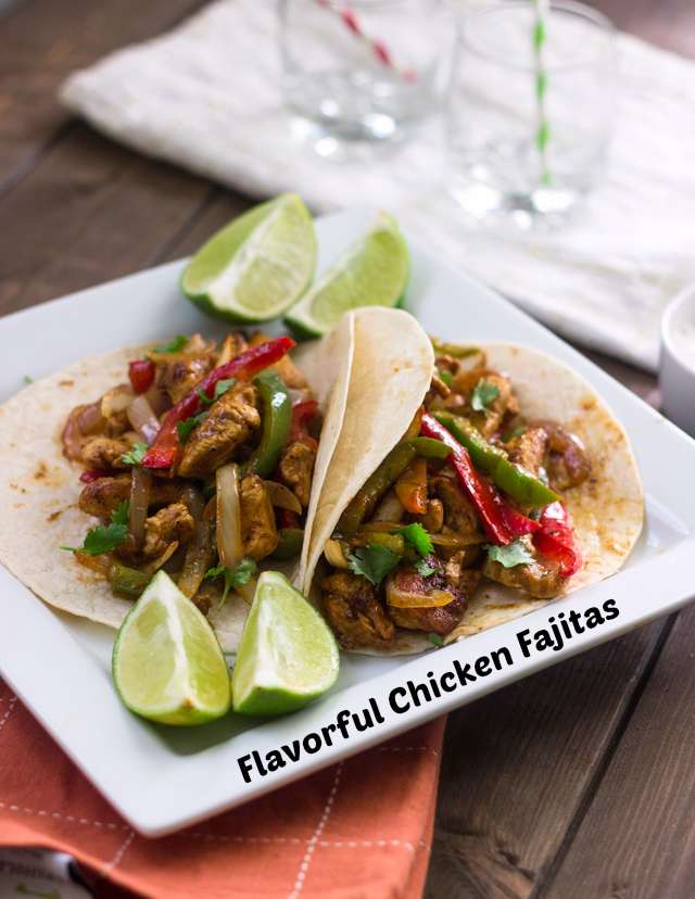 20 Minute Flavorful Chicken Fajitas