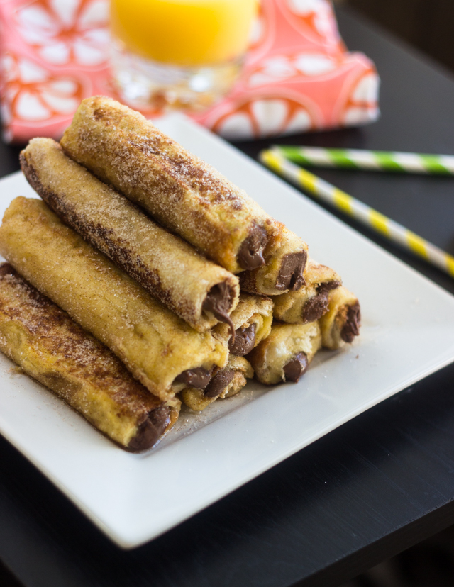 Reese's French Toast Roll-Ups