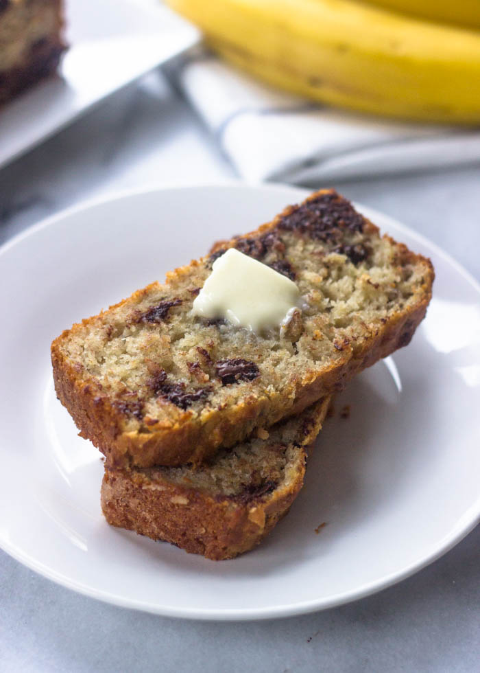 The Best Ever Super Moist Gluten Free Banana Bread