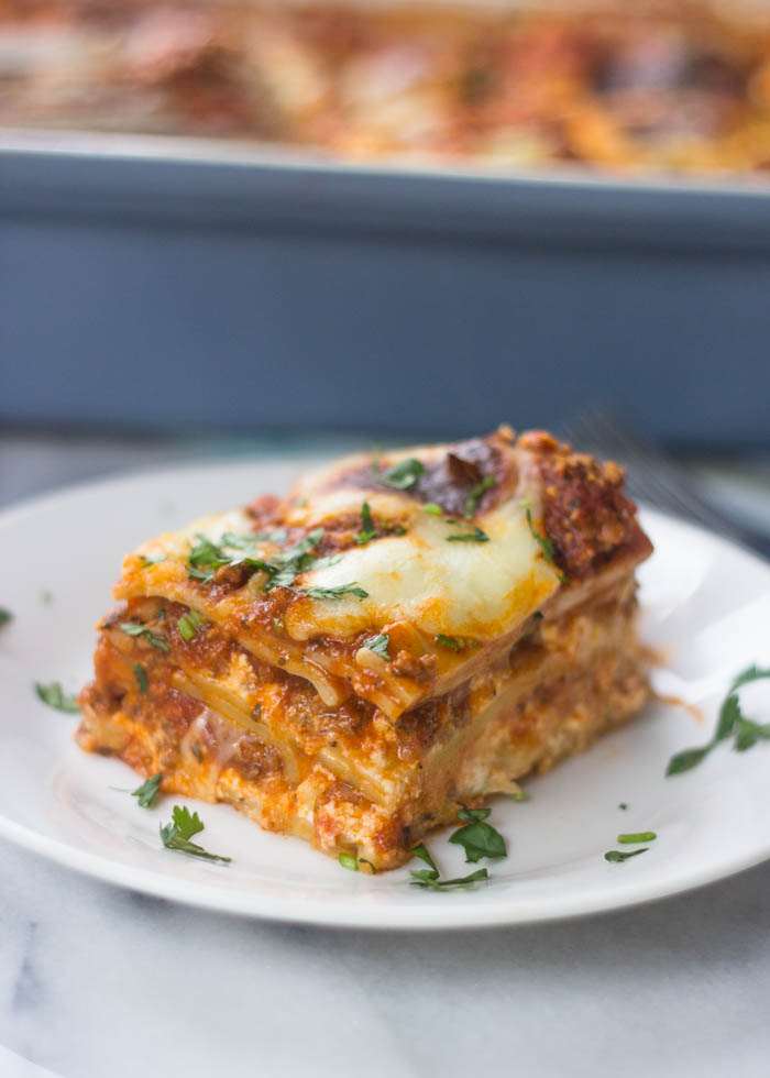 This is The Best Ever Lasagna Recipe!