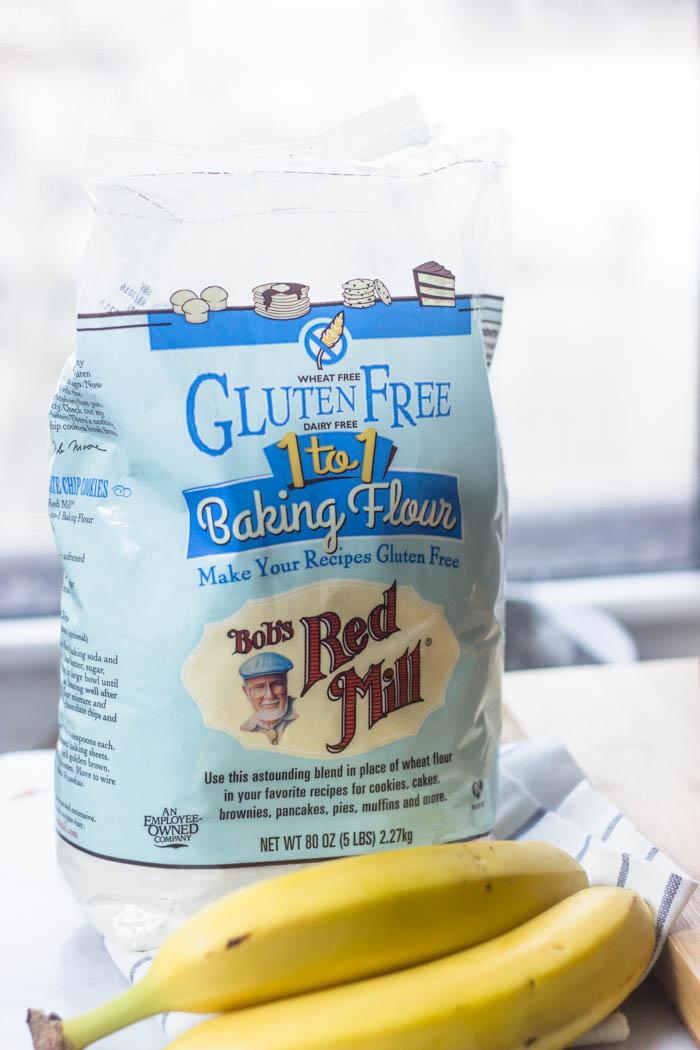 The Best Ever Super Moist Gluten Free Banana Bread