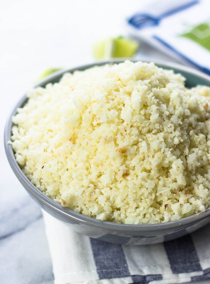 How To Make Cauliflower Rice (Quick, Healthy, Low-Carb, Paleo) #weightloss #lowcarb