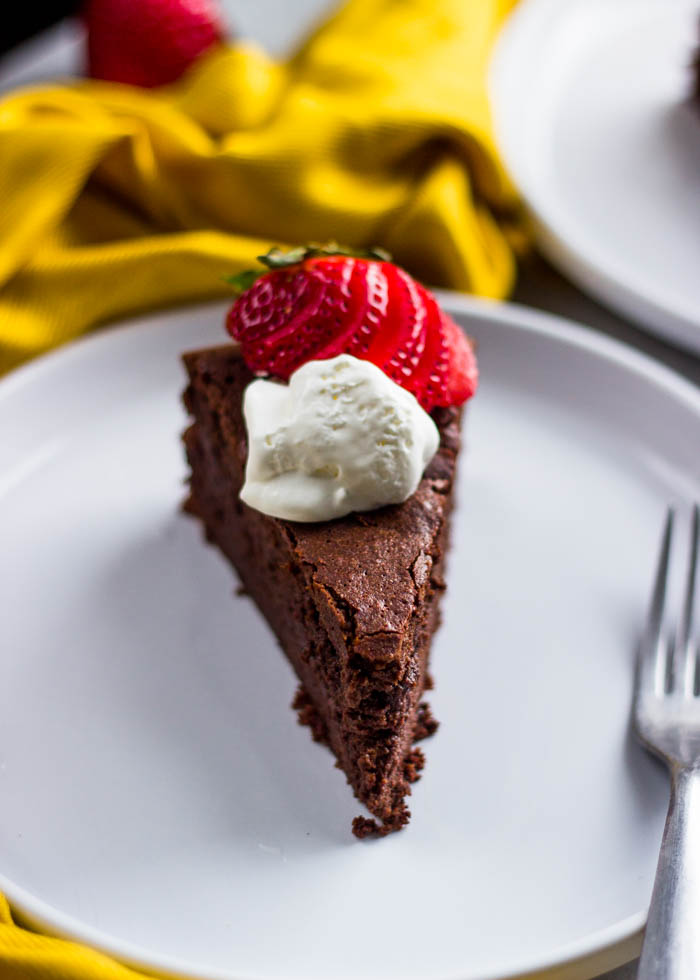 baked chocolate mousse cake (36 of 44)