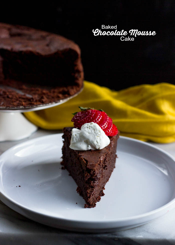 baked chocolate mousse cake (43 of 44)