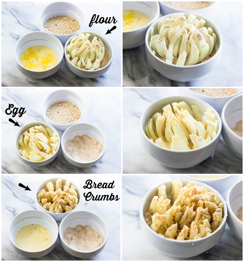Baked Blooming Onion #Weightloss #recipes #skinny #outback