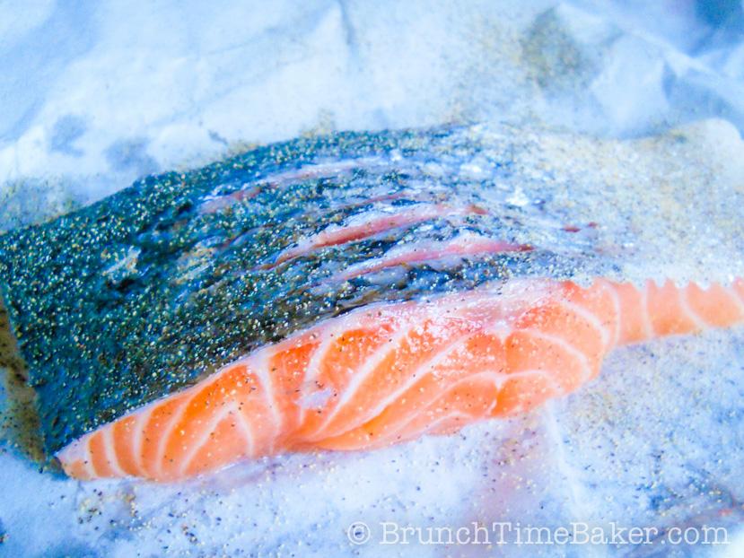 how to make salmon fillets crispy
