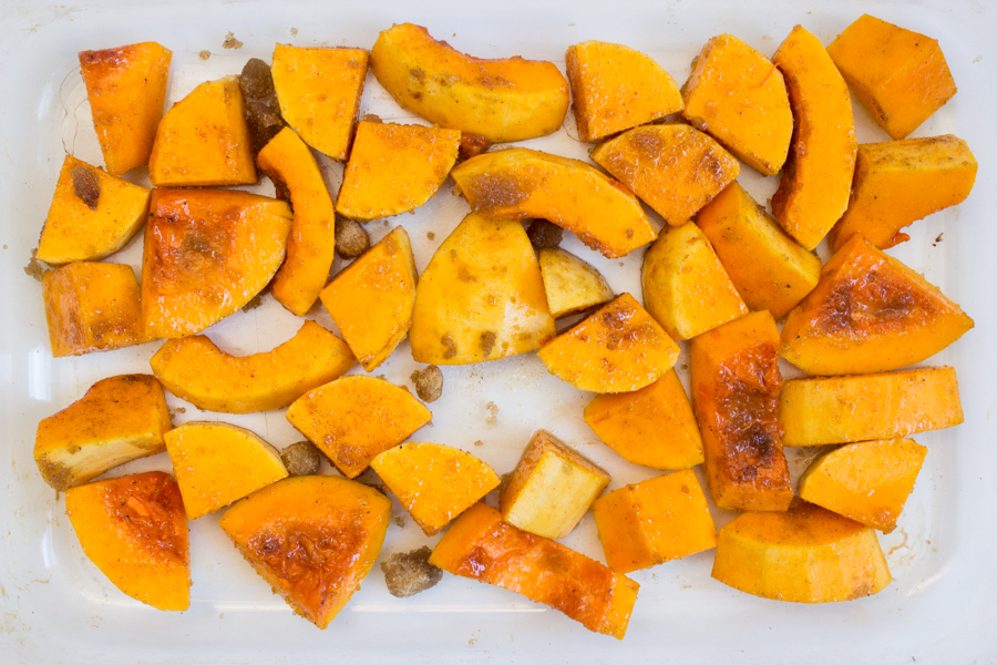 how to make butternut with cinnamon