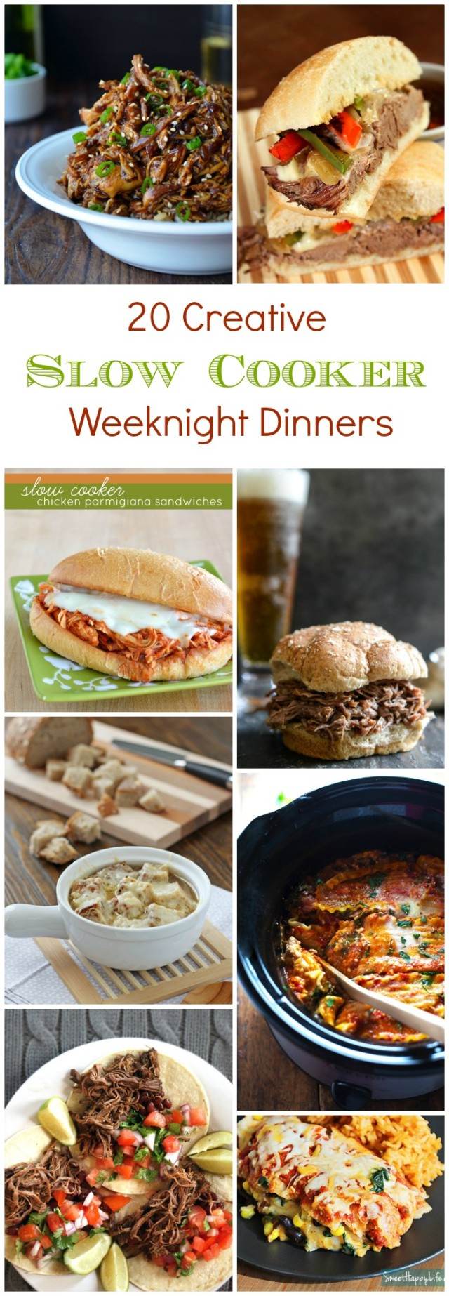 20 creative slow cooker weeknight dinner recipes gimme for Something delicious to eat for dinner