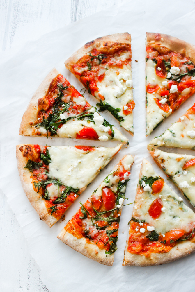 ... arugula pizza arugula tomato pizza blt pizza with bacon arugula tomato