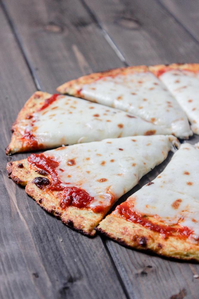 The Best Low Carb Cauliflower Pizza Crust Recipe