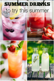 The Top Refreshing Summer Drinks to Try This Summer