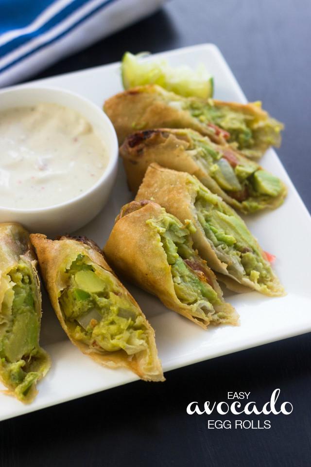 how to make avocado rolls
