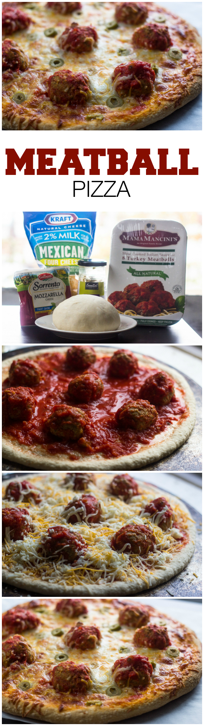 Meatball Pizza | Gimme Delicious