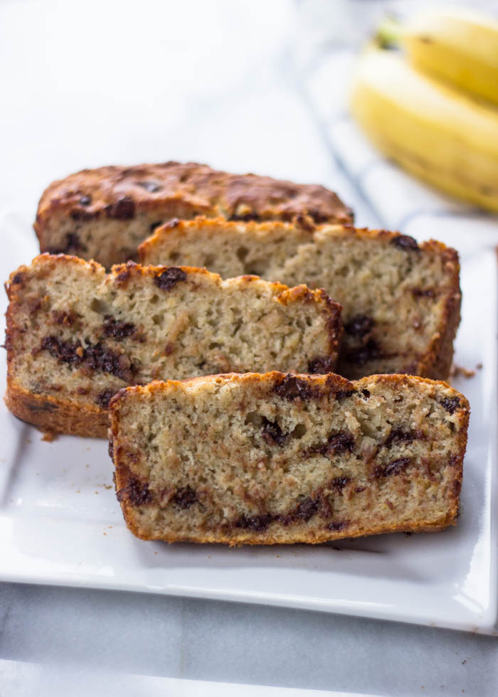 The Best Ever Super Moist Gluten Free Banana Bread | Gimme Delicious