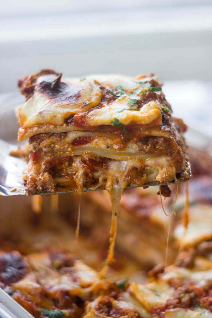 The Best Ever Lasagna | Gimme Delicious
