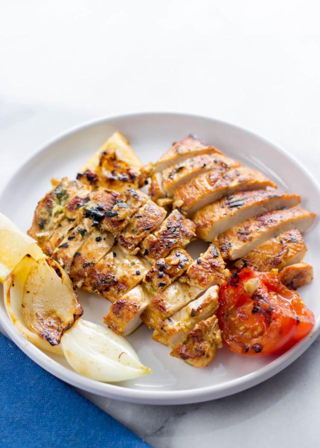 Mediterranean Grilled Chicken Breasts Gimme Delicious