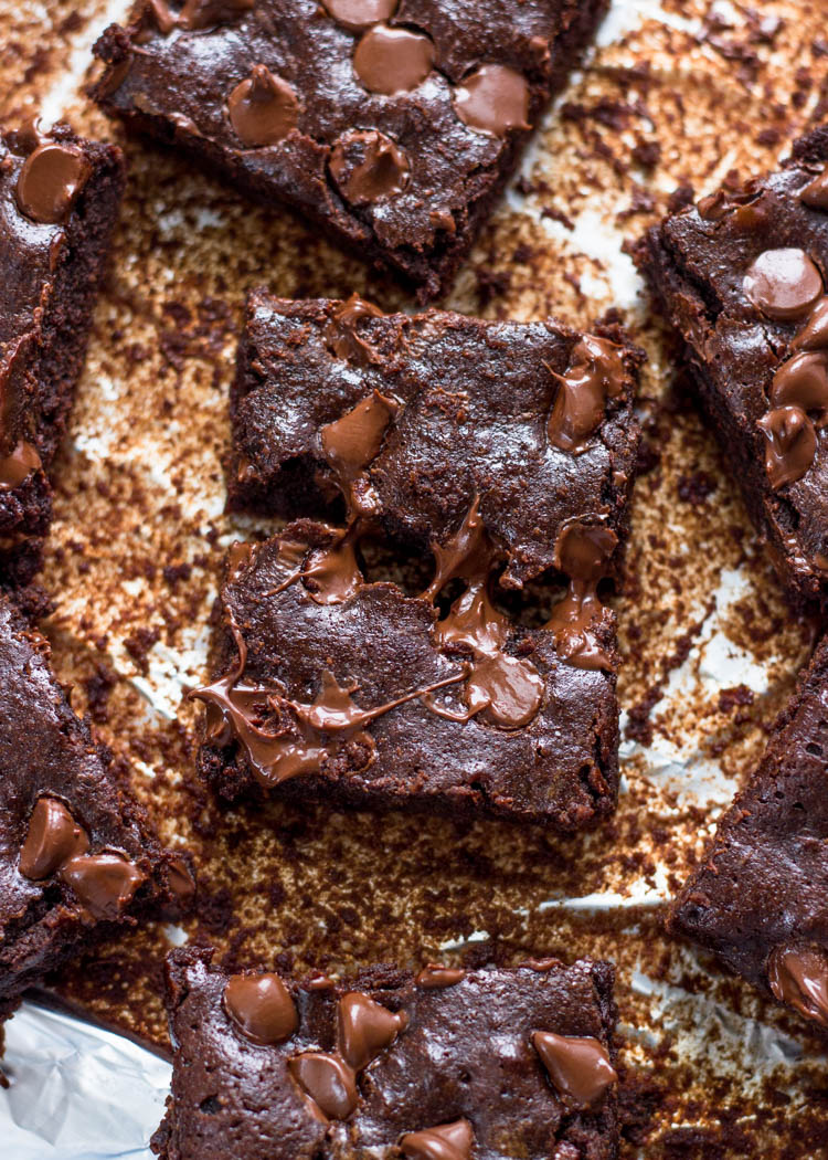 Easy One Bowl Fudgy Cocoa Brownies- You will never use brownie mix again after trying these!