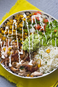 EVEN BETTER Chicken Burrito Bowls