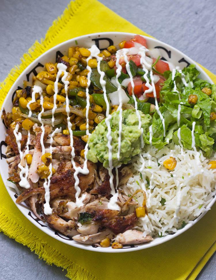 EVEN BETTER Chicken Burrito Bowls
