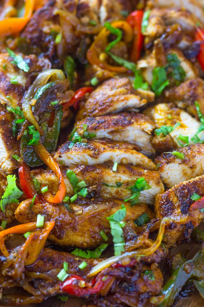 Easy One Pan Fajita Chicken