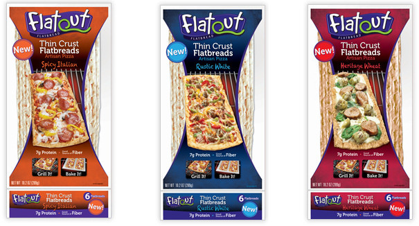 Healthy Pizza in 20 Minutes or Less + Flatout Bread Giveaway!