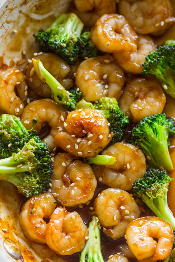 Easy Honey Garlic Shrimp And Broccoli Gimme Delicious
