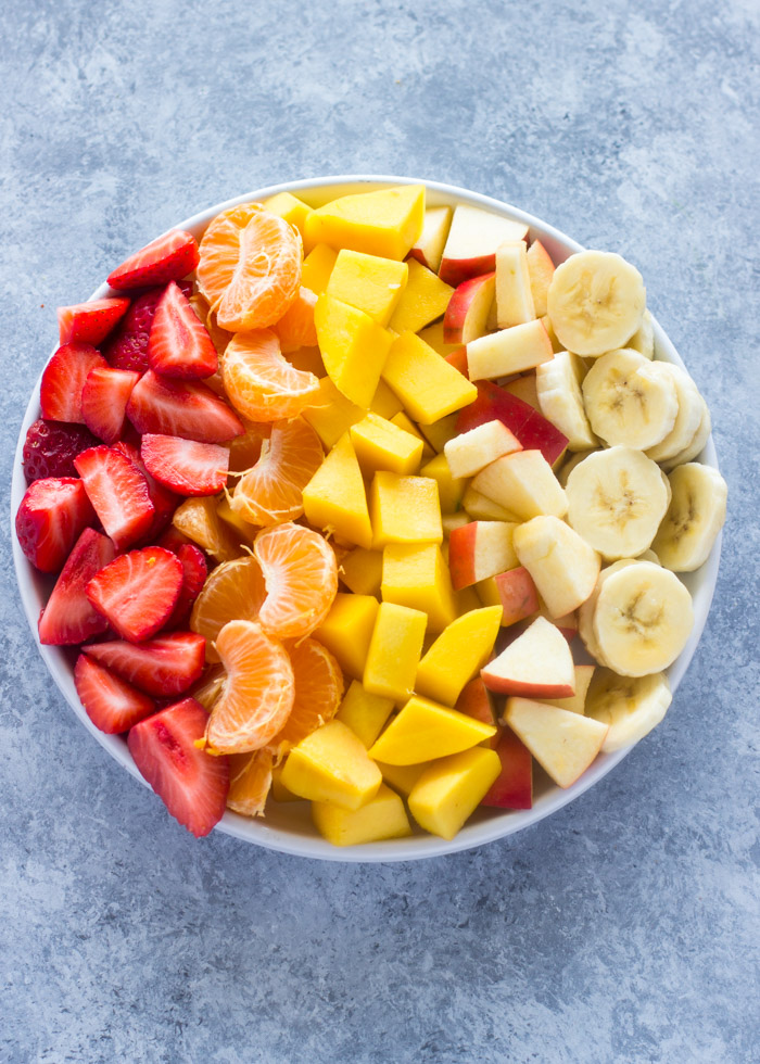 simple fruit salad is fruit diet healthy