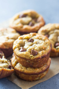 The Best Paleo Banana bread muffins