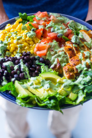 South Western Chicken Salad with Cilantro dressing (14 of 14)