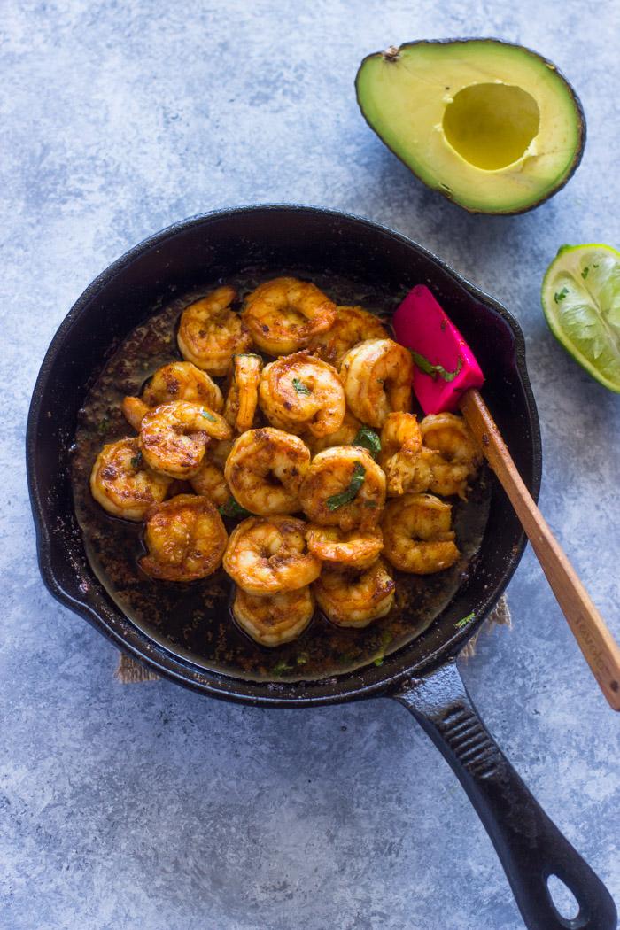 All-Purpose Spicy Shrimp Skillet