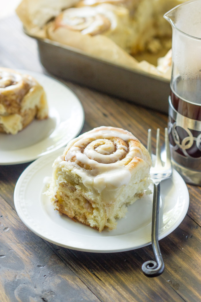 Quick 45 Minute Cinnamon Rolls