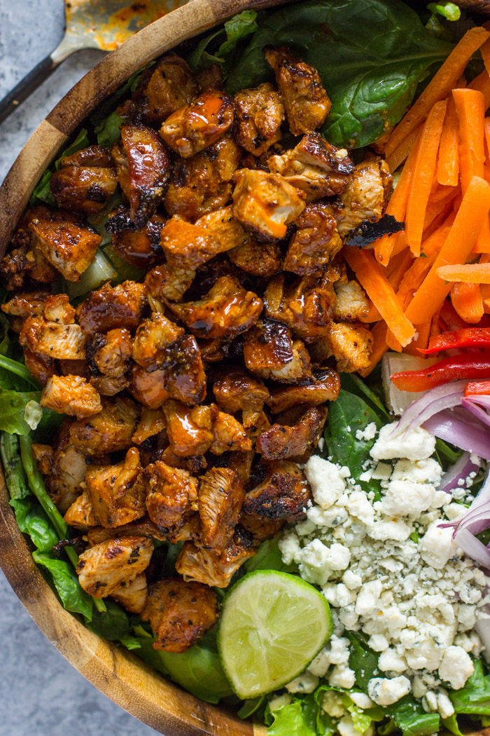 Buffalo Chicken Salad | Gimme Delicious