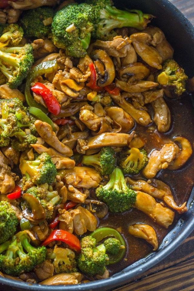 20 Minute Chicken Broccoli  Mushroom Stir-Fry  Gimme -3710