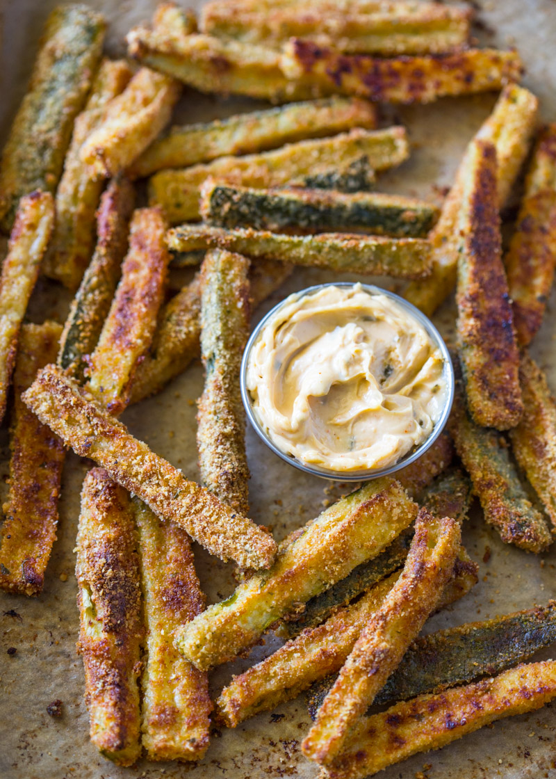 The Best Crispy Baked Zucchini Fries Gimme Delicious