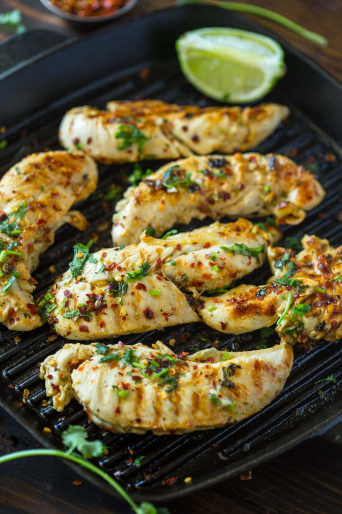 Grilled Chili Cilantro Lime Chicken Gimme Delicious