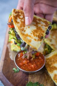 Chicken Avocado Quesadillas | Gimme Delicious