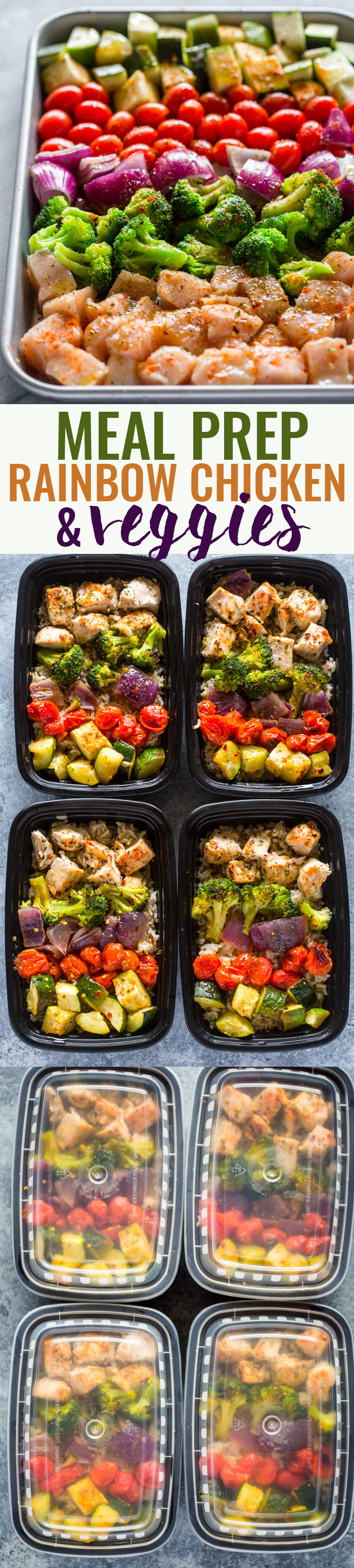 Meal Prep  Healthy Chicken And Veggies