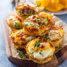 Hash Brown Egg Nests + Giveaway!