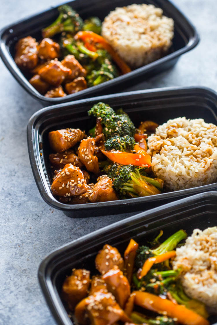 Meal Prep  Teriyaki Chicken And Broccoli