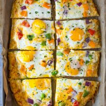 Hash Brown Crust Breakfast Pizza + Giveaway!