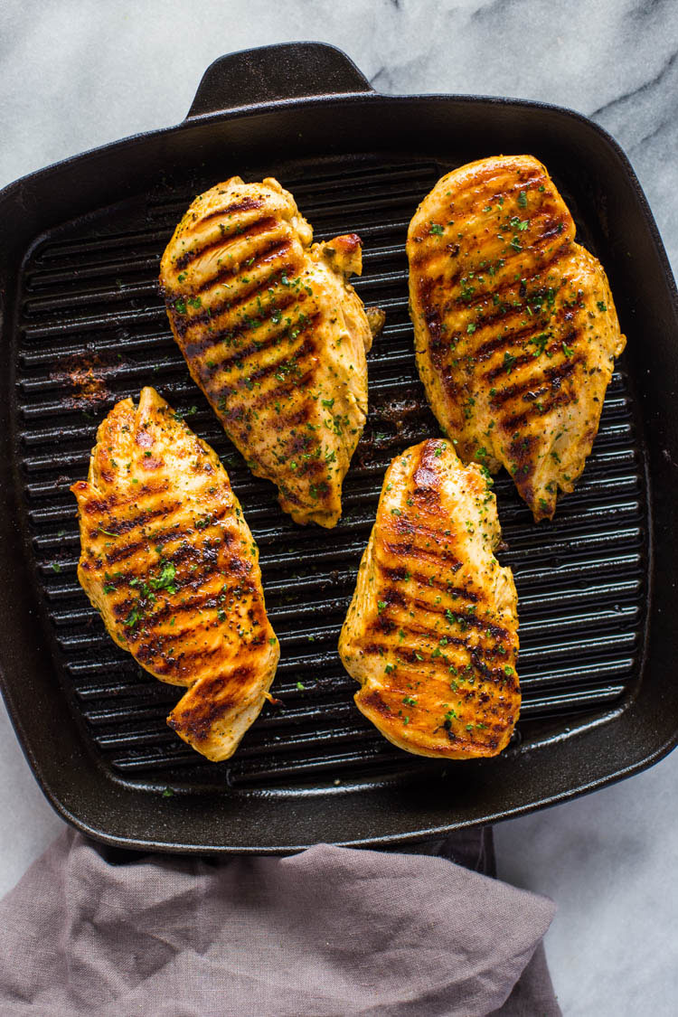 How To Grill Chicken On Stovetop (easy Grill Pan Method)
